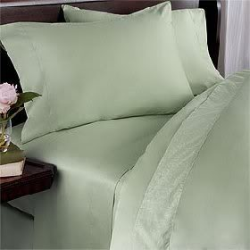 SimplyLinens: 1000 Thread Count 100% Egyptian Cotton Solid / Plain pattern Bed Sheets Set [Elastic Fitted Sheets - Deep Pockets] at Sears.com